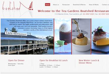 Tea Gardens Boat Shed Restaurant